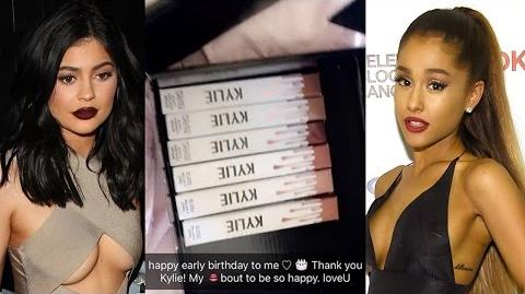 Ariana Grande & Her Mom Freak Out Over Kylie Lip Kit - Birthday Gift From Kylie