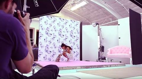 Behind the Scenes Ariana Grande for Lipsy