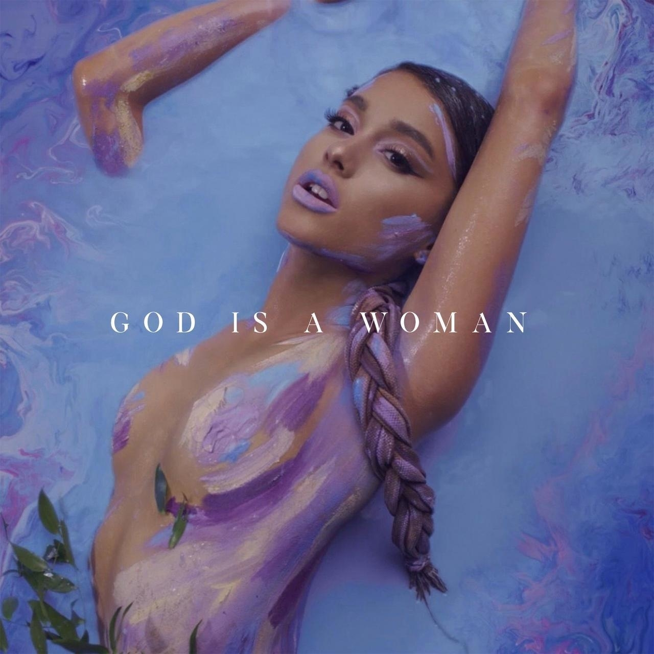 Image result for god is a woman album cover