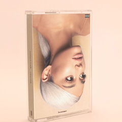 <i>Sweetener</i> cassette scheduled to be released on August 22, 2018, through Island Records only in the UK.