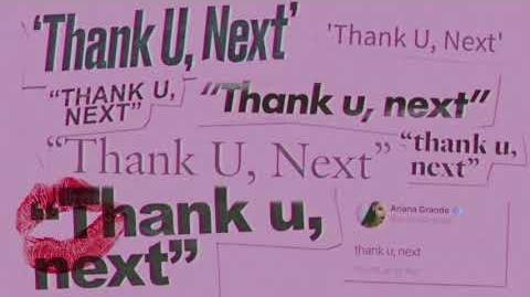 Ariana Grande - thank u, next (clean)