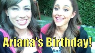 ARIANA GRANDE'S 20th BIRTHDAY!