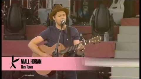 "Niall Horan ""This Town"" Live at One Love Manchester Concert"