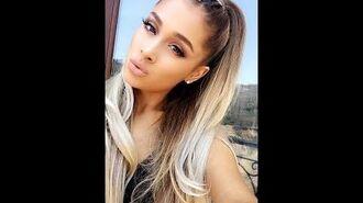Celebrating 23rd Birthday With Fans! Ariana Grande Snapchat