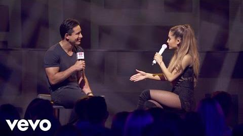 Ariana Grande - Make Me Laugh (Q&A on the Honda Stage at iHeartRadio Theater LA)