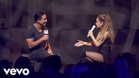 Ariana Grande - Make Me Laugh (Q&A on the Honda Stage at iHeartRadio Theater LA)