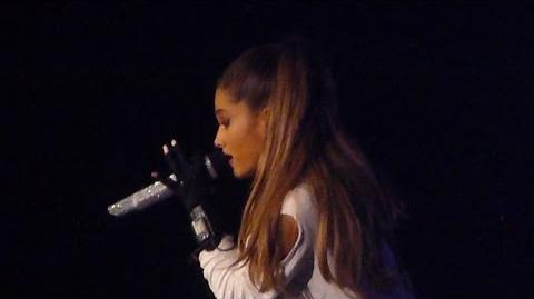 Ariana Grande - Why try - Live Paris 2015