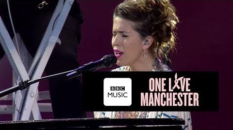 Imogen Heap - Hide and Seek (One Love Manchester)