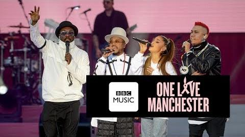 Black Eyed Peas and Ariana Grande - Where Is The Love (One Love Manchester)