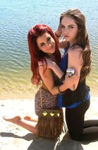 Ari and Liz beach