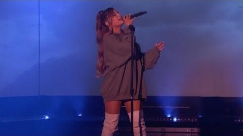 Ariana Grande - breathin (Ellen Performance)