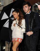 Nathan Sykes y Ariana Grande