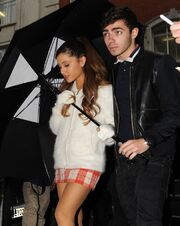 Nathan Sykes and Ariana Grande