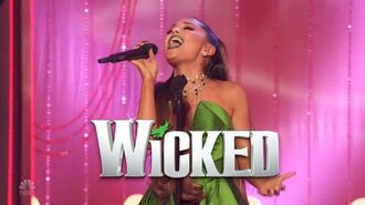 Ariana Grande preforming The Wizard and I on the Wicked 15th Anniversary Special in 1080p