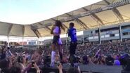 Big Sean and Ariana Grande Right There at Wango Tango 2014