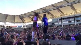 Big Sean and Ariana Grande Right There at Wango Tango 2014