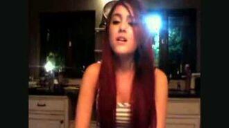 Ariana Grande Singing HURT