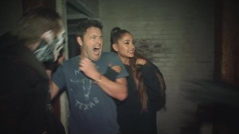 Andy and Ariana Grande's Haunted House Adventure