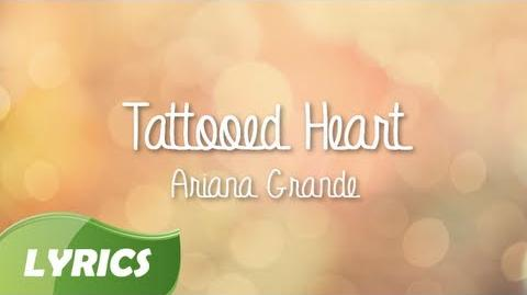 Ariana Grande - Tattooed Heart ♬ Studio Version (Lyrics Video)