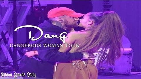 Ariana Grande & Mac Miller - Dang (Live at the Dangerous Woman Tour)