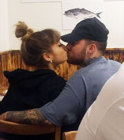 Mac and Ari's kiss
