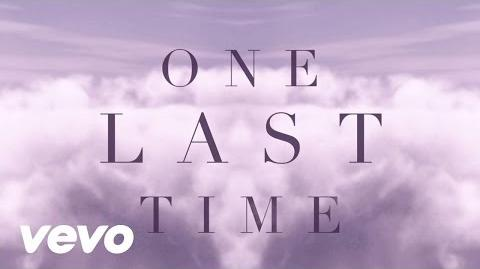 Ariana Grande - One Last Time (Lyric Video)