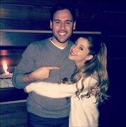 Ariana Grande & Scooter Braun
