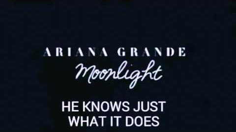Ariana Grande - Moonlight (frammento) con testo