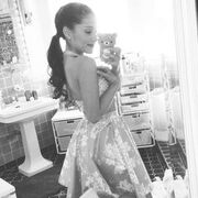 Ariana Off to Power of Youth in Keds