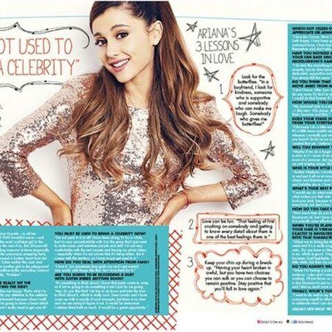 Intervista di Ariana con gli editori della rivista