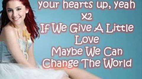 Ariana Grande - Put Your Hearts Up Lyrics