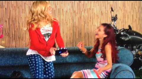 Sam & Cat - FUN ON SET! (March 2013)