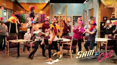 "PARTY!!! ""Harlem Shake"" (Ariana & Jennette)Sam & Cat 2013!"