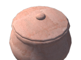Clay Storage Pot