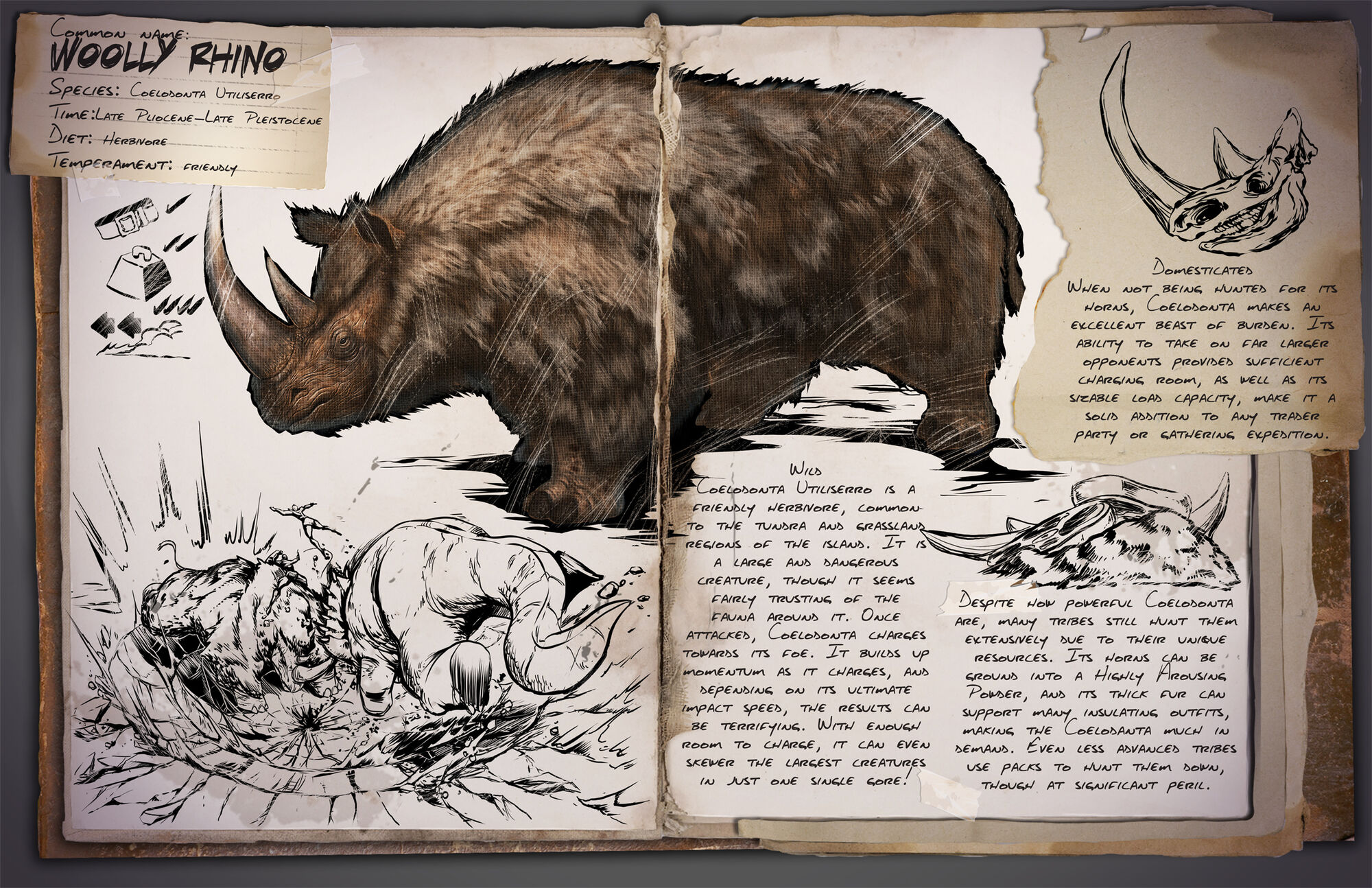 Woolly rhino ark survival evolved wiki fandom powered by wikia malvernweather Images