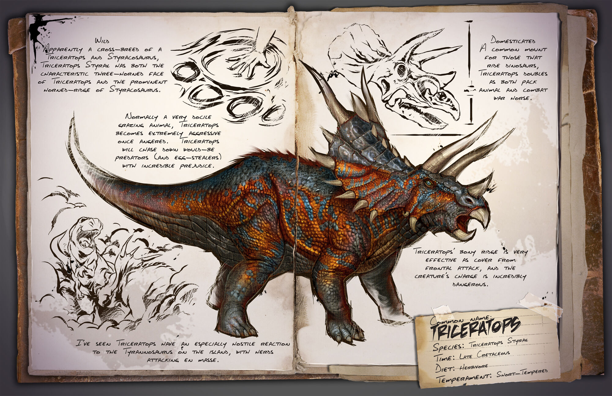 Triceratops   ARK: Survival Evolved Wiki   FANDOM powered by Wikia