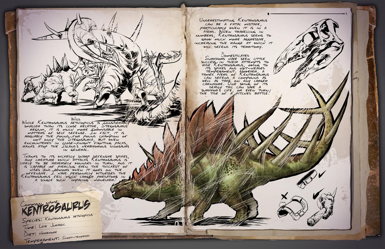 хоть картинки досье динозавров из арк там, что хочешь