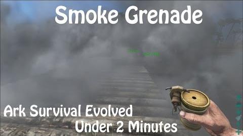 Smoke Grenade Ark Survival Evolved