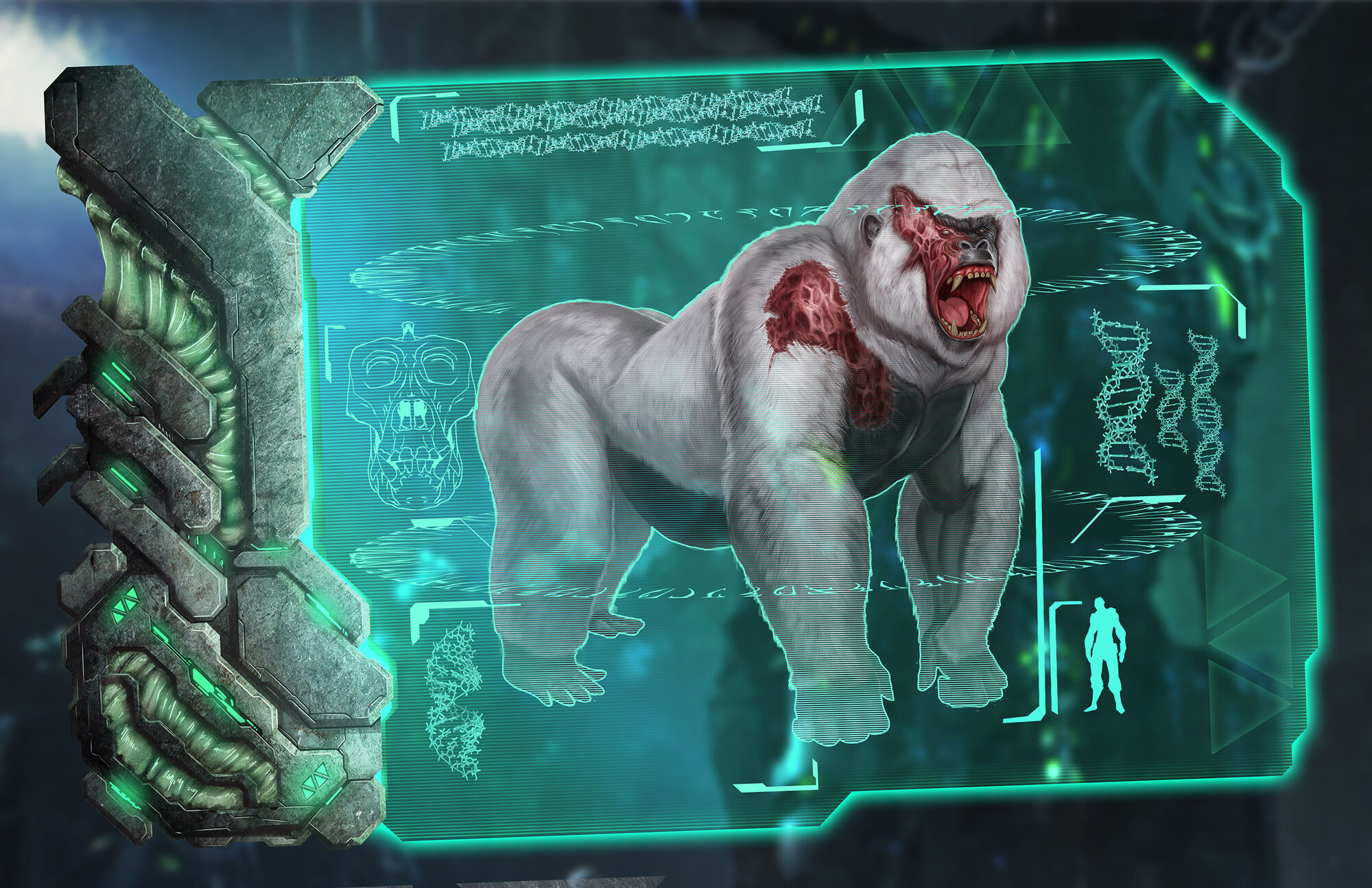 Megapithecus | ARK: Survival Evolved Wiki | FANDOM powered