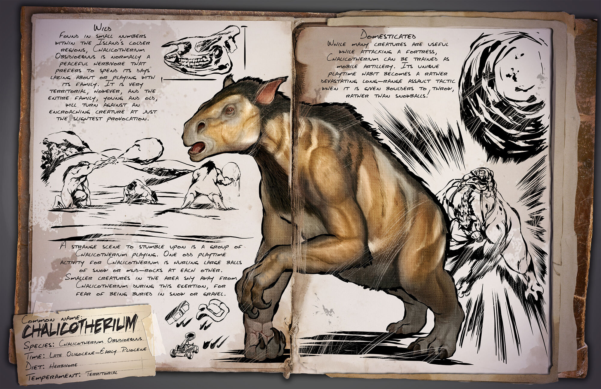 Chalicotherium | ARK: Survival Evolved Wiki | FANDOM powered by Wikia