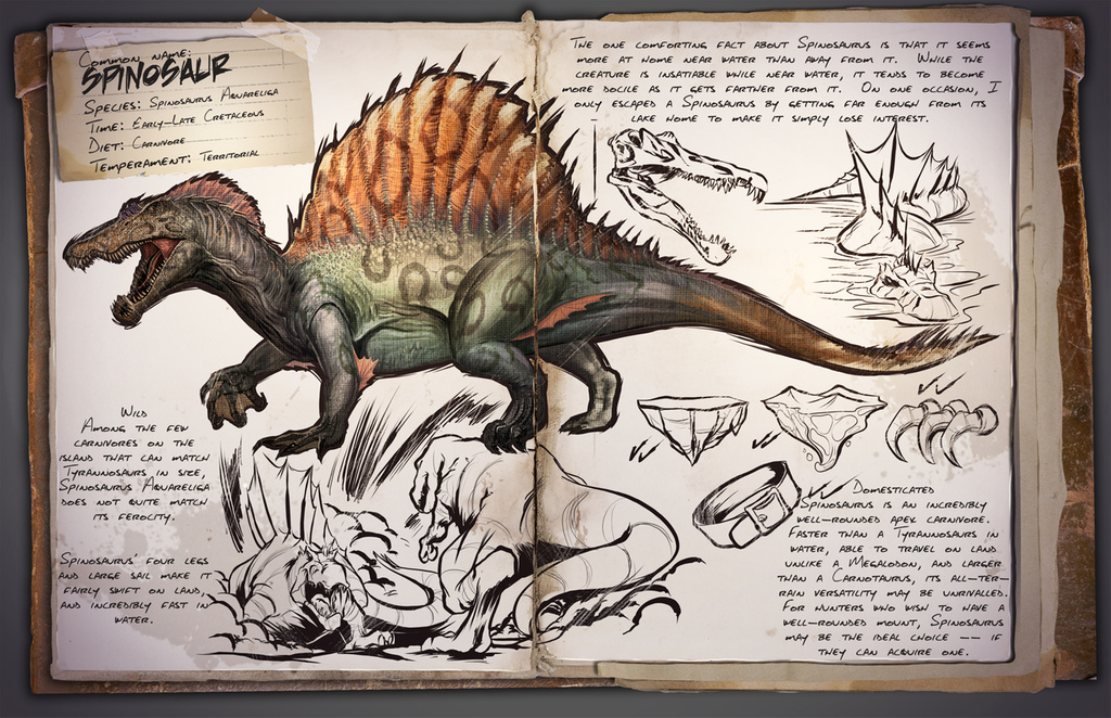 Spinosaurus | ARK: Survival Evolved Wiki | FANDOM powered by