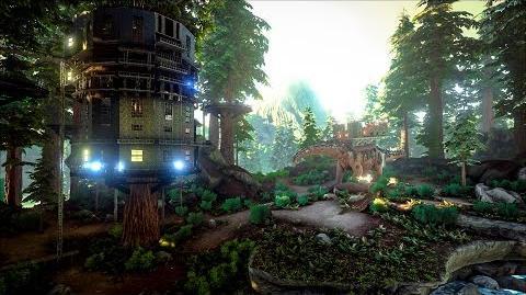 Redwood Biome and Spotlight Titanosaur!