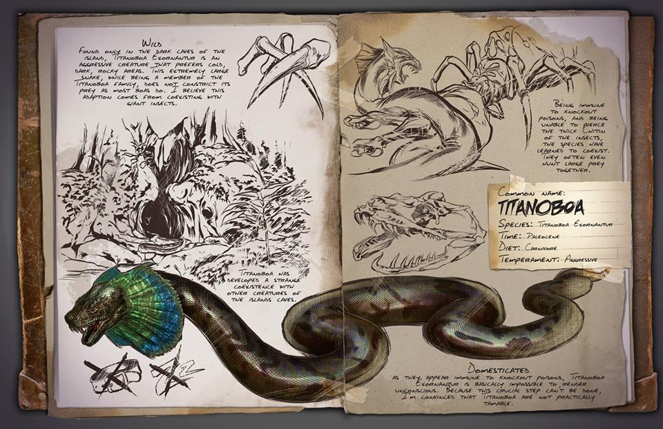 Titanoboa | ARK: Survival Evolved Wiki | FANDOM powered by Wikia