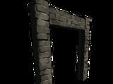 Огромная каменная рама