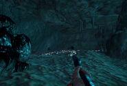 Подводная пещера Внутри