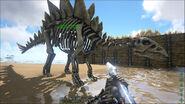 ARK-Skelesaur Stegosaurus 001