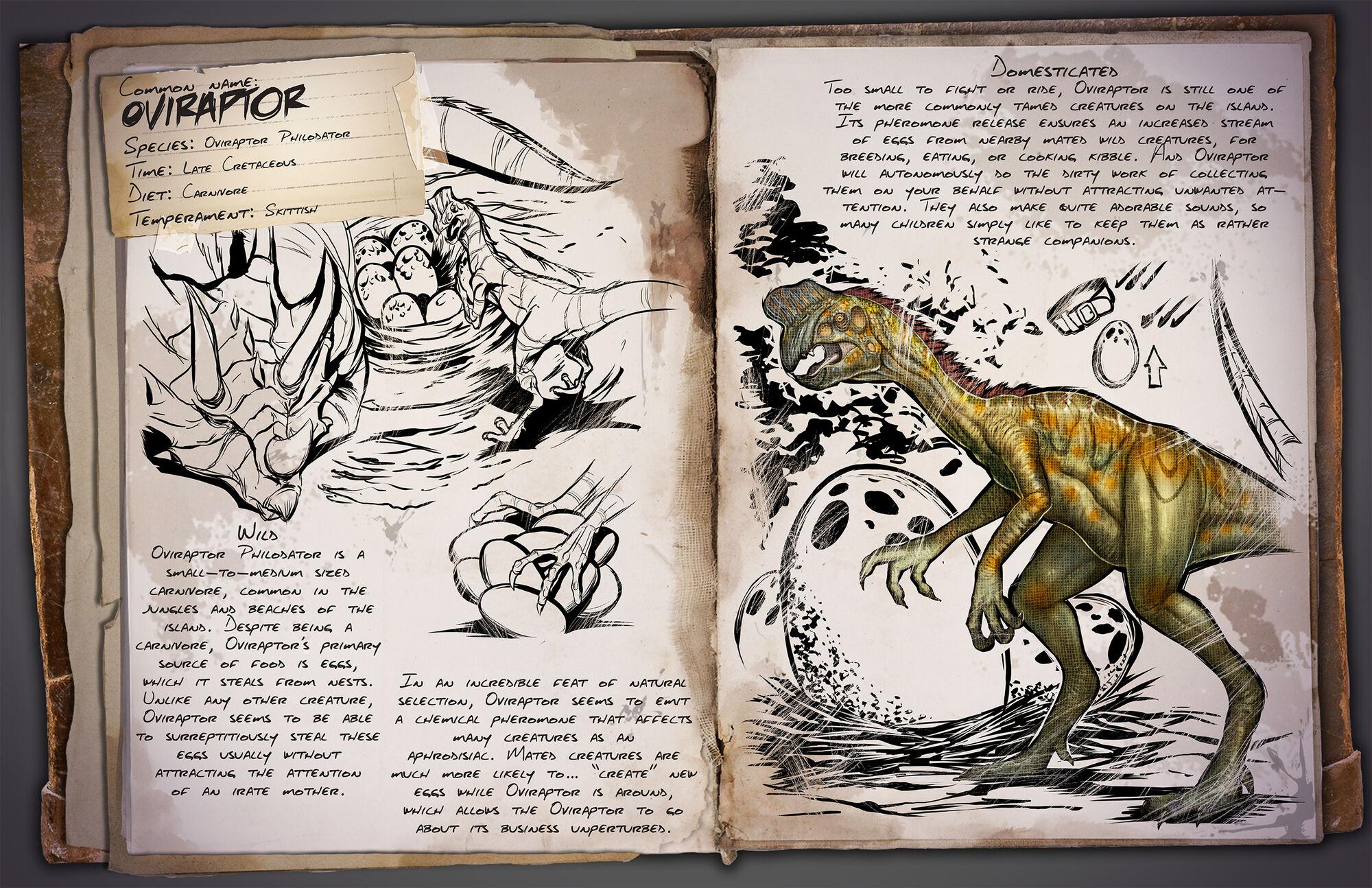 Oviraptor | ARK: Survival Evolved Wiki | FANDOM powered by Wikia