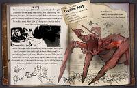 Ark survival evolved queen titanomyrma dossier by shockalocker-dahkqt7