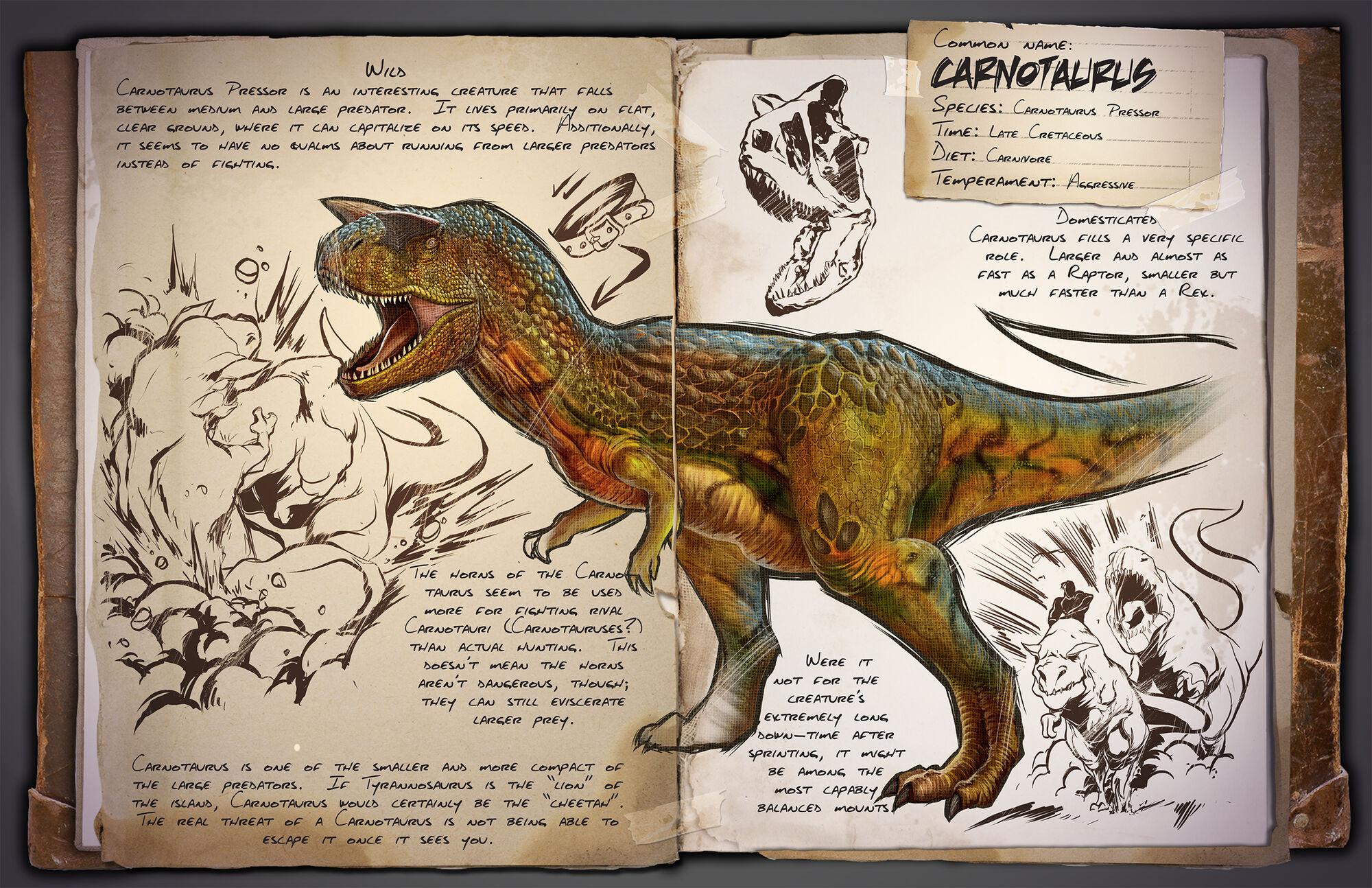 22d95b0f35 Carnotaurus | ARK: Survival Evolved Wiki | FANDOM powered by Wikia