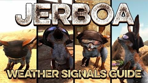 ARK JERBOA Weather Signals Guide! Sandstorms, Superheat, Electrical Storms Scorched Earth Behavior